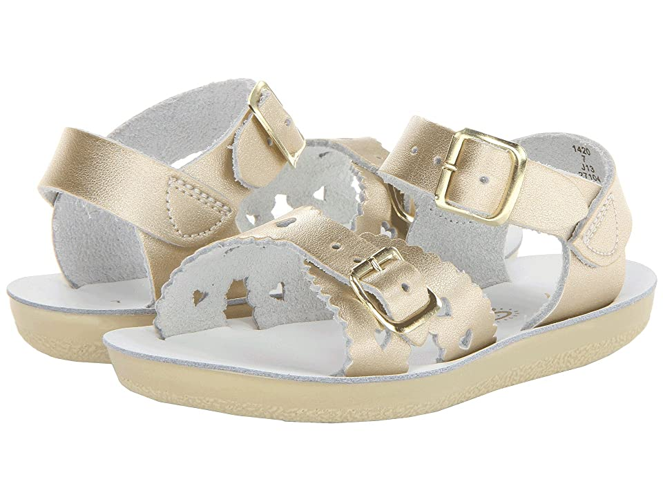 Salt Water Sandal by Hoy Shoes Sun-San Sweetheart (Toddler/Little Kid) (Gold) Girls Shoes