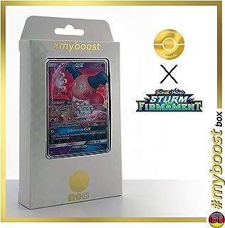 Pantimos-GX (Mr. Mime-GX) 56/168 - #myboost X Sonne & Mond 7 Sturm Am Firmament - Coffret de 10 Cartes Pokémon Allemandes
