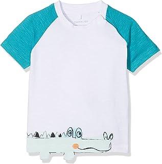 NAME IT Baby-Jungen Nbmdetus Ss Top T-Shirt