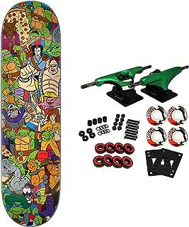 Santa Cruz Skateboard Complete Teenage Mutant Ninja Turtles Crew Everslick 8.0