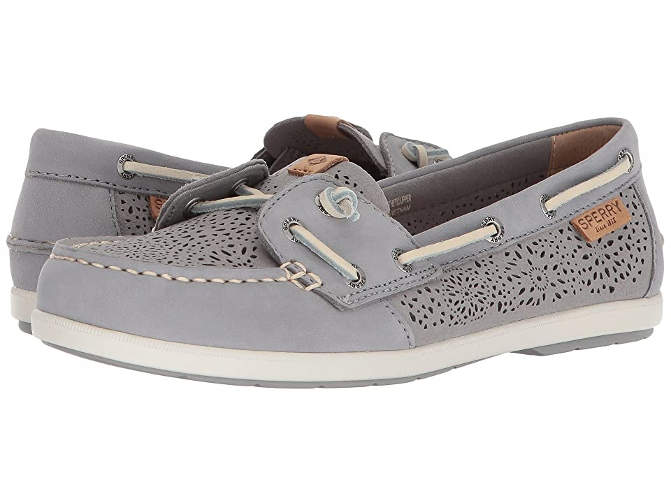 Sperry Coil Ivy Geo Perf (Grey) Women