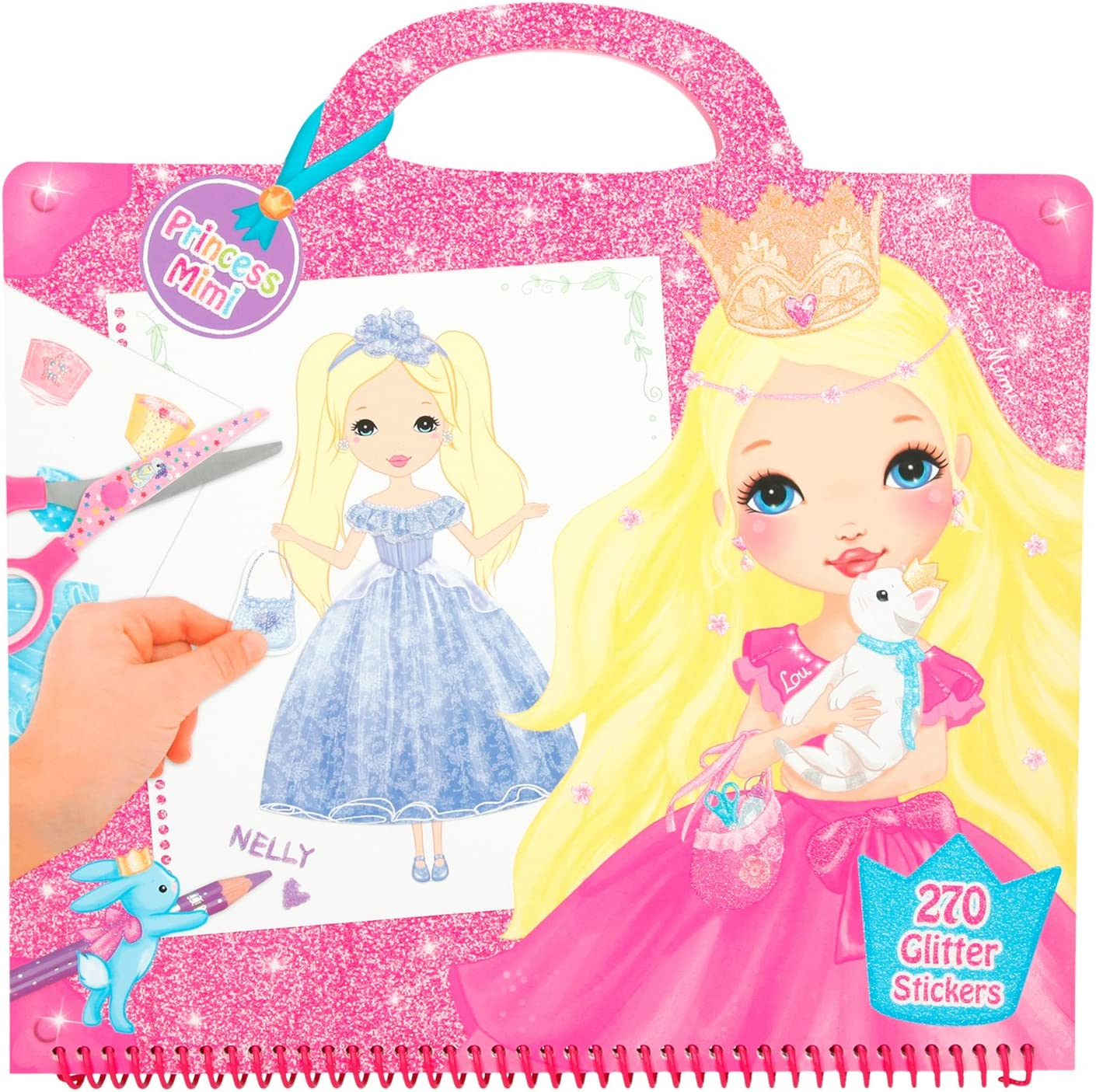 67% OFF of fixed price Depesche 6556 Studio Colouring Book My Style New product Princess