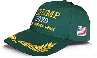 Donald Trump Campaign Hat 2020 Make America Great Again, Adjustable USA Cap, Baseball Hat Flex Fit for Men & Women …