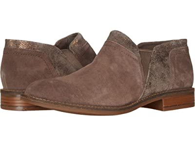 Clarks Camzin Mix (Dark Taupe Suede Combination) Women