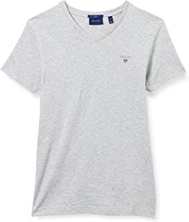 GANT Men's Original Slim V-Neck T-Shirt