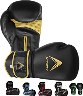 Athllete Men and Women Boxing Kickboxing Mixed Martial Arts Heavy Bag Sparring Training Gloves