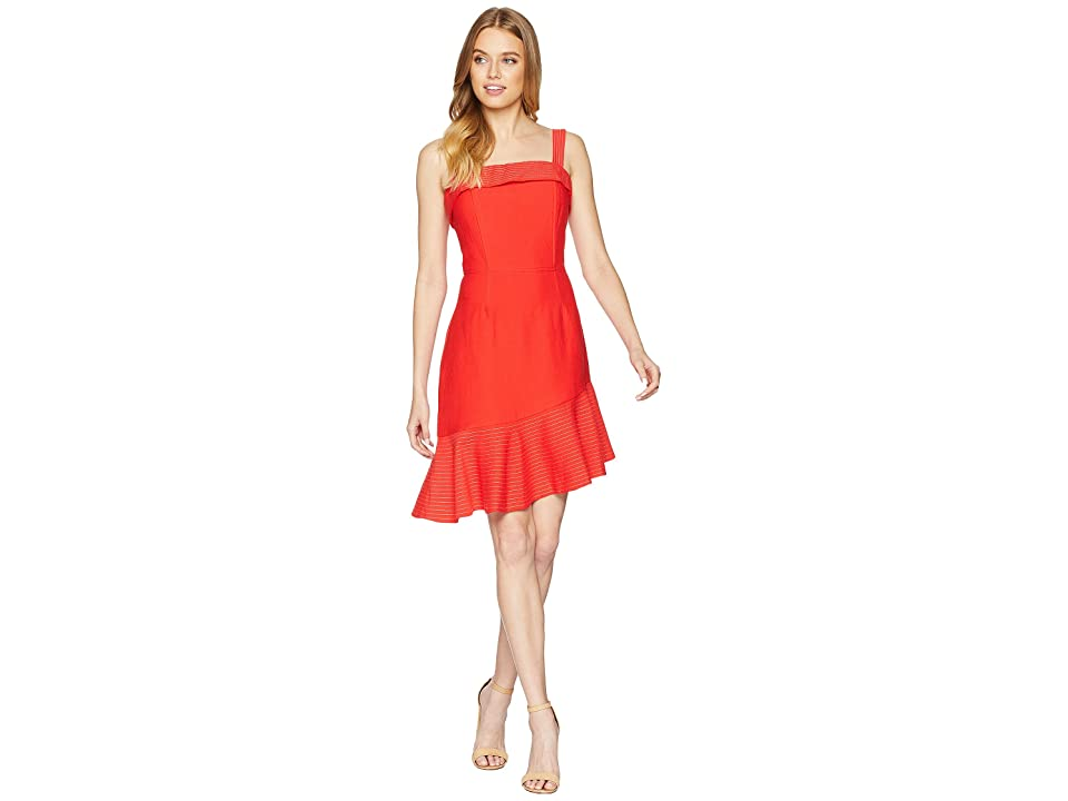 Adelyn Rae Romey Trumpet Dress (Tomato Red) Women