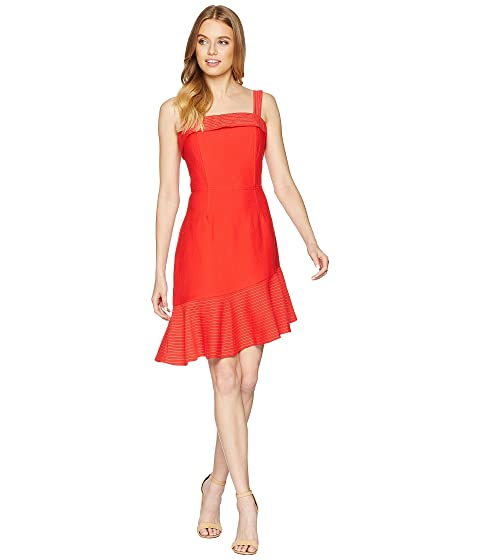 trompeta Romey rojo vestido de tomate Adelyn Rae 5RIqxa