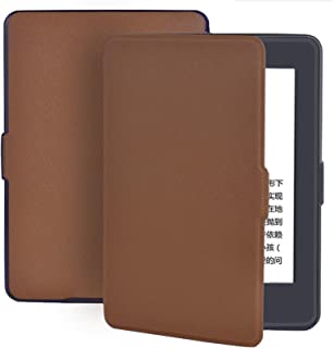 Cover for Kindle Paperwhite 1/2/3 Pu Leather Slim Fashion Tablet Smart Case for Kindle Paperwhite Dp75Sdi Prior to 2018 Shell