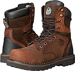 "Brookville 8"" Steel Toe Waterproof"