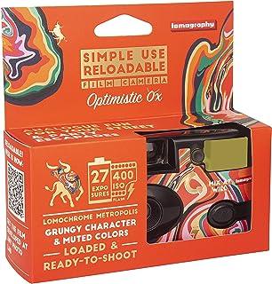 Lomography Simple Use Reloadable Film Camera Optimistic Ox – LomoChrome Metropolis