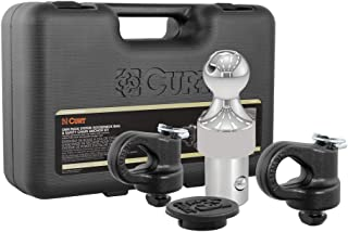 CURT 60692 OEM Puck System Gooseneck Hitch Kit for Chevrolet, Ford, GMC, Nissan Trucks, 30,000 lbs. GTW, 2-5/16-Inch Ball, OEM Puck System Required