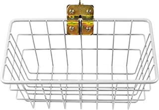 DC Cargo Mall E-Track, Bolt-on Wall Mount Wire Basket, w/Bolt-on Option | Super Easy Portable Trailer Organizing Storage P...