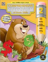 Comprehensive Curriculum of Basic Skills Workbook for Grade 2, Paperback, 544 Pages, Ages 7–8