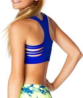 Malibu Sugar Girls (7-14) Side Line Sports Bra