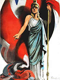 Purvis War WWII UK Britannia Up to You Advert Extra Large XL Wall Art Poster Print