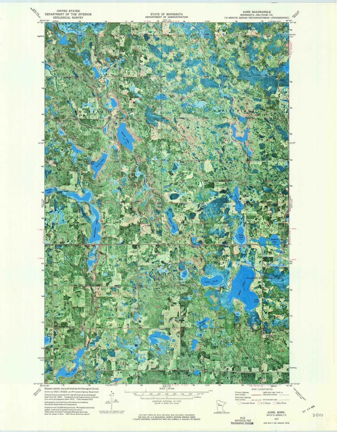 Al sold out. 67% OFF of fixed price YellowMaps Aure MN topo map 1:24000 Hi 7.5 Scale Minute X
