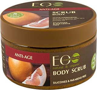 EO Laboratorie natural & organic Sugar Body Scrub Anti Age With Acai Berry & Aloe-Vera Extract, 250 ml