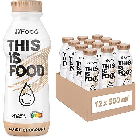 YFood Chocolate   Batido Sustitutivo   Sustitutivo de comida sin lactosa ni gluten   33g de proteínas, 26 vitaminas y minerales   25% de las calorías ...