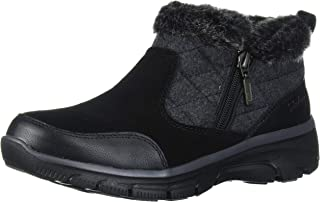 Skechers EASY GOING - Quarter Zip Quilted-Wool Bootie womens Ankle Boot