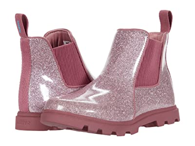 Native Kids Shoes Kensington Treklite Glitter (Little Kid) (Pink Glitter/Temple Pink) Girl