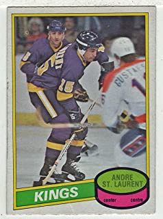 Andre St.Laurent (Hockey Card) 1980-81 O-Pee-Chee # 316 VG-NM