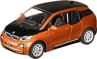 1:32 Scale BMW i3 Electric Car Model (Solar Orange Metallic w/Frozen Grey accent)