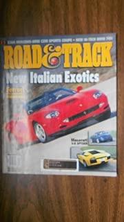 Road & Track Magazine January 2002 (NEW ITALIAN EXOTICS - FERRARI - 550 BARCHETTA PININFARINA - MASERATI V-8 SPYDER -, VOLUME 53, NUMBER 5)