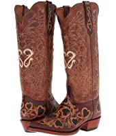Tony Lama - Signature Series Hearts & Scroll Boot