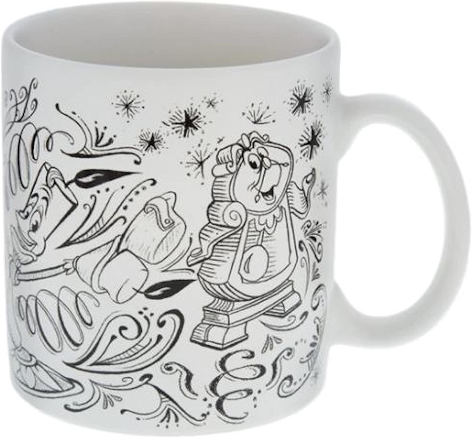 Disney Parks Beauty and The Beast Be Our Guest Mug