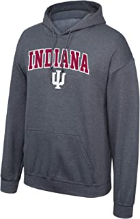 Top of the World NCAA Mens Dark Heather Arch Hoodie Sweatshirt