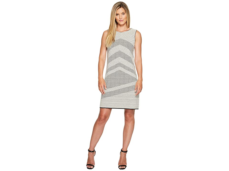 NIC+ZOE Knit Mantra Dress (Creme Brulee) Women