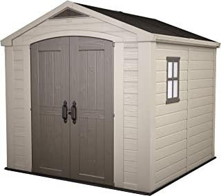 Factor 8x8 Garden Shed by Keter