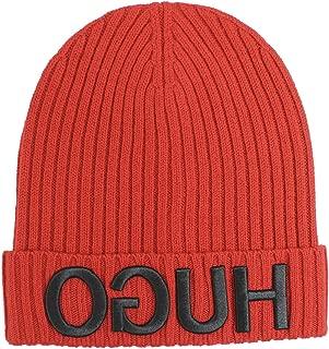 Men's Men-X-537 Reverse Logo Wool Beanie Hat (One Size Fits Most)