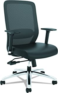 freedom task chair with headrest in prima leather
