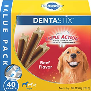 Pedigree Dentastix Dental Treats for Dogs - Large (30 lb +)