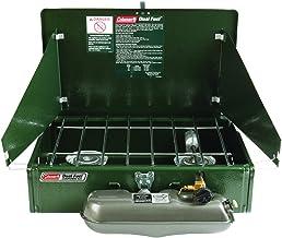 Coleman 2 Burner Dual Fuel Compact Liquid Fuel Stove
