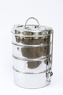 Stainless Steel 4 Tier Tiffin Lunch/Storage Box