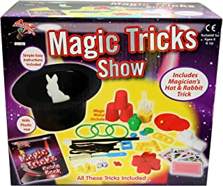 A to Z 109 Magic Trick Set with Hat, Multi