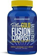 Blue Gold Compost Fusion Vegetative Natural NOP Compliant Water Soluble NPK Fertilizer Paste for Greenhouse Vegetable Flower Rose Garden, Hydro, Lawn, Turf, Tree, Herb, Shrub, Ornamental.