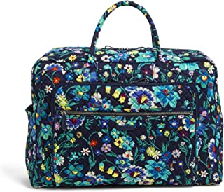Vera Bradley womens Iconic Grand Weekender Travel Bag, Signature Cotton