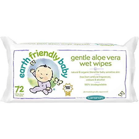 Organic Cotton Baby Wipes 50wipes