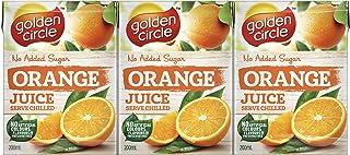 Golden Circle Orange Fruit Juice, 6 x 200ml