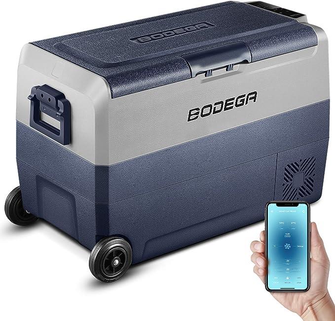 276 opinioni per BODEGA Frigorifero per auto, 50 l, 20 ℃ – 20 ℃ – mini frigorifero per roulotte,