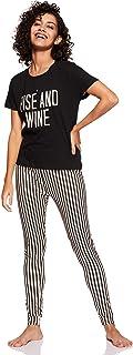 Amazon Brand - Eden & Ivy Women's T-Shirt & Pyjama Set