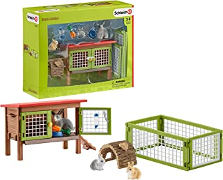 Schleich Rabbit Hutch Set, Multi-Colour