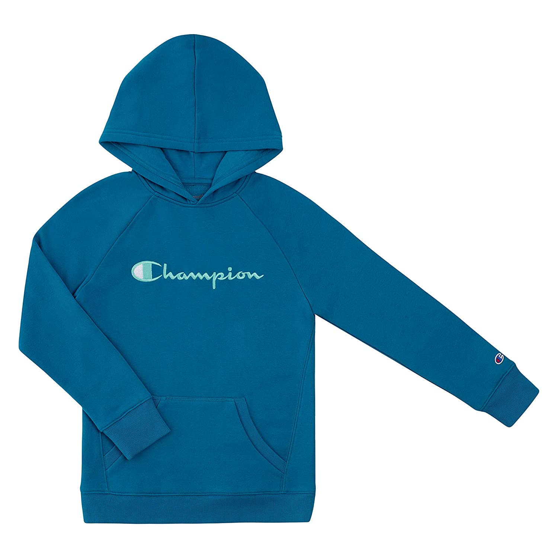 Fashion Kids Blue C Logo Embroidery Hoodie Jacket Outwear Sweatershirt