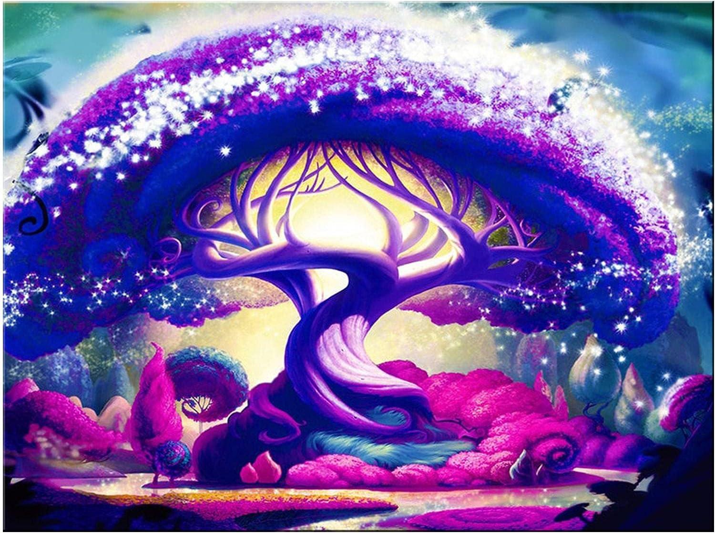 20 30inch frameless oil art painting-magic tree-decorative mura Popular standard Challenge the lowest price