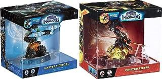 Master Sensei Skylanders Imaginators 2-Character Bundle - Master Ember and Master Tidepool Video Game Set