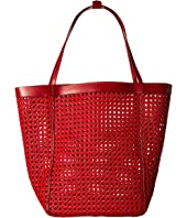 Elizabeth and James - Woven Teller Tote